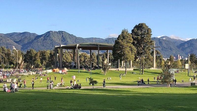 Parc Simon Bolivar Bogota