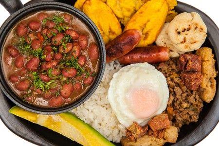 Bandeja Paisa Colombia