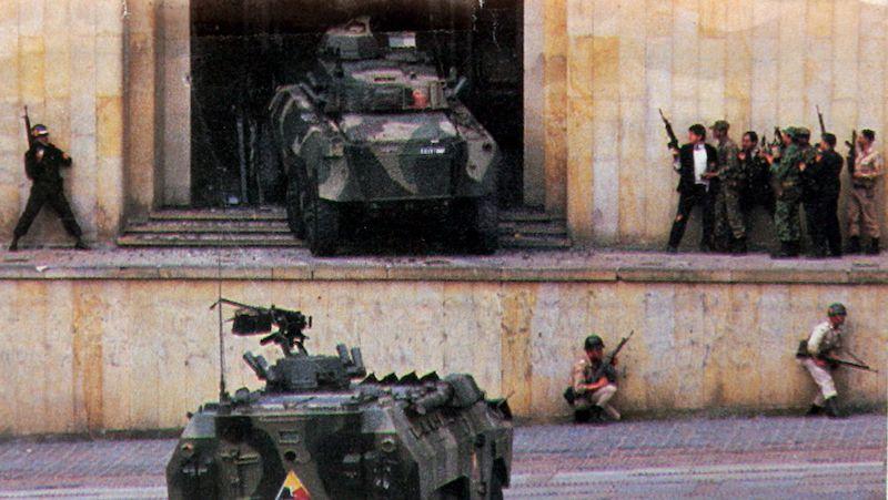 Prise Du Palais 6 Novembre 1985