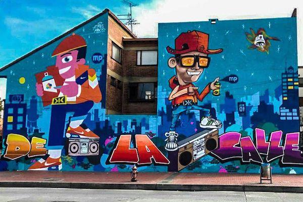 Street Art Bogota Graffiti