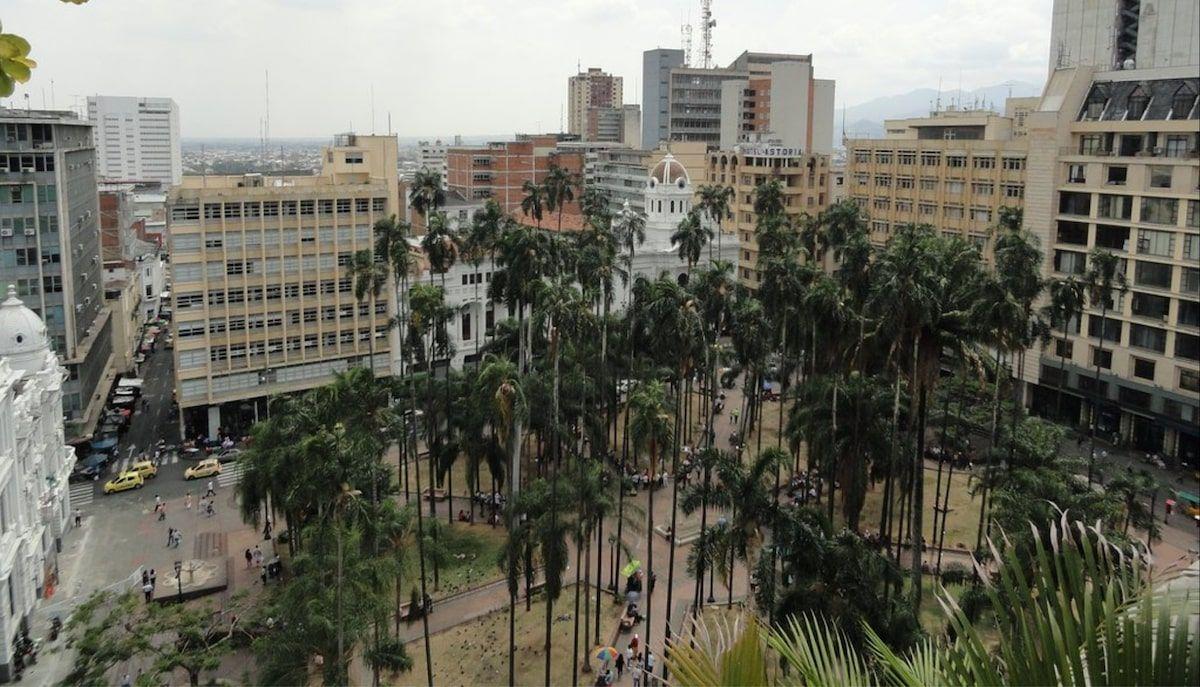 Plaza Caicedo Cali