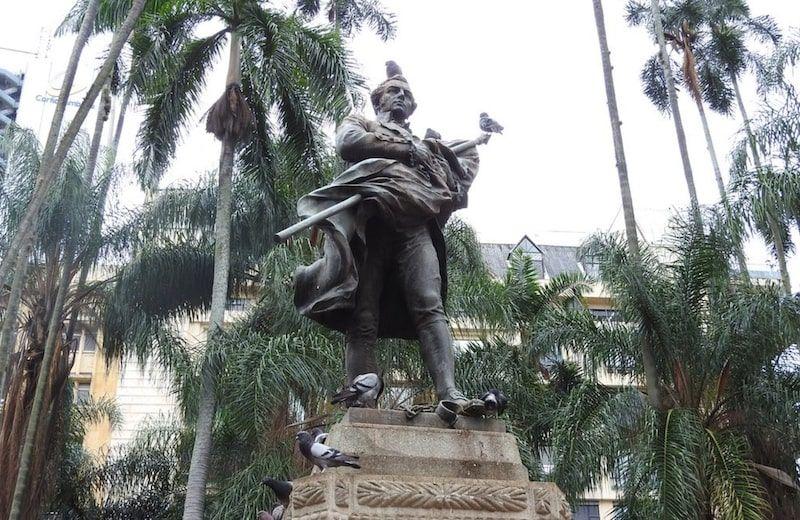 Statue Joaquin De Cayzedo Y Cuero Cali