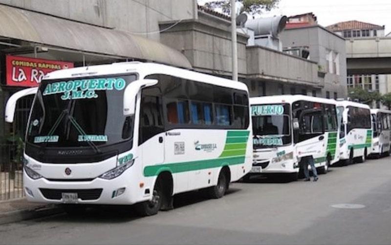 Bus Aeroport Medellin