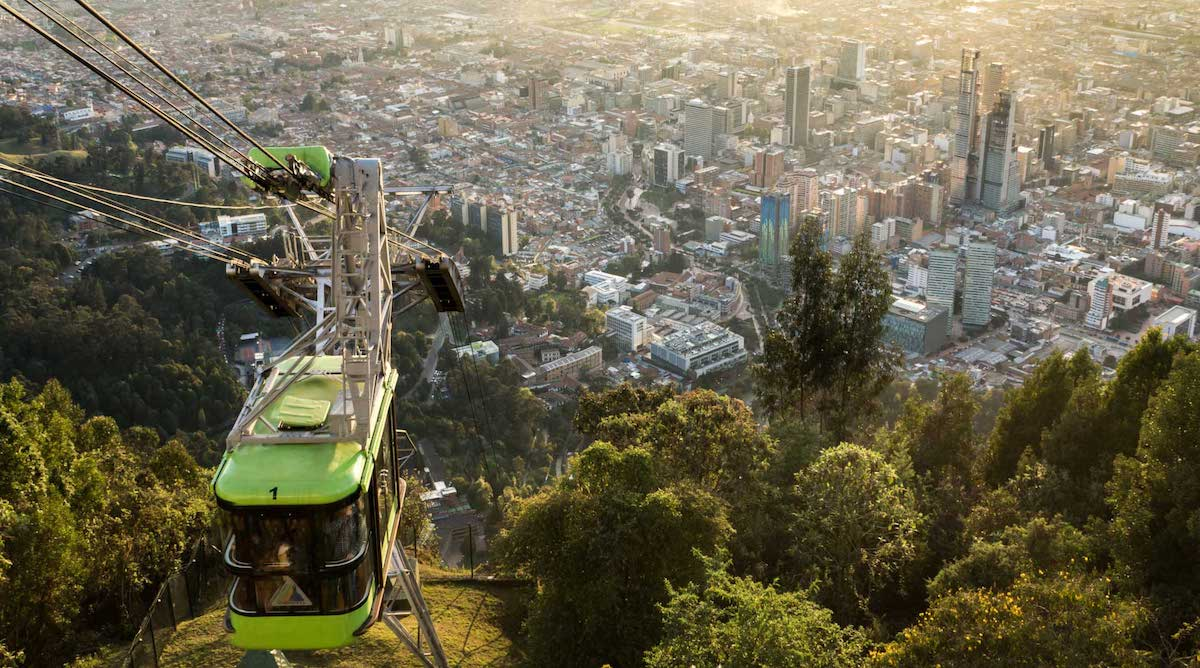 Funiculaire Monserrate Bogota