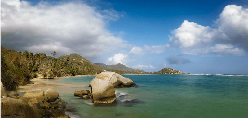 Playa Piscina Tayrona