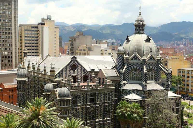 Palacio De La Cultura Rafael Uribe Medellin