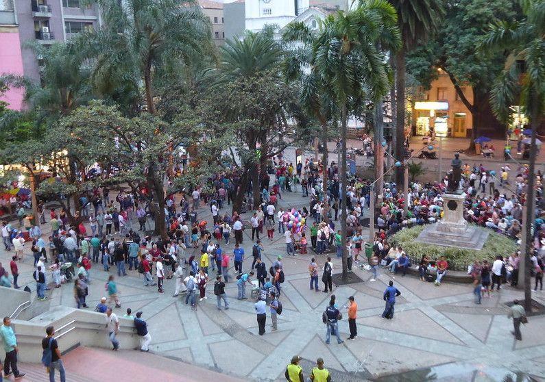 Parque De Berrio Medellin