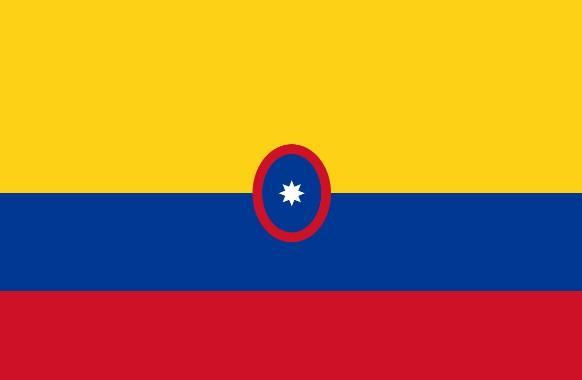 Drapeau Marine Colombie