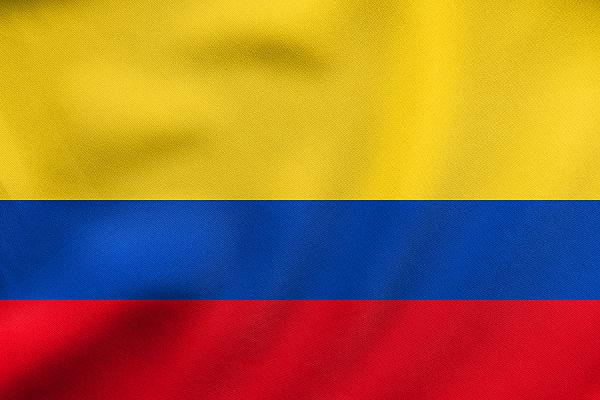 Drapeau Officiel Colombie