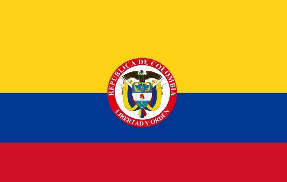 Drapeau Presidentiel Colombie