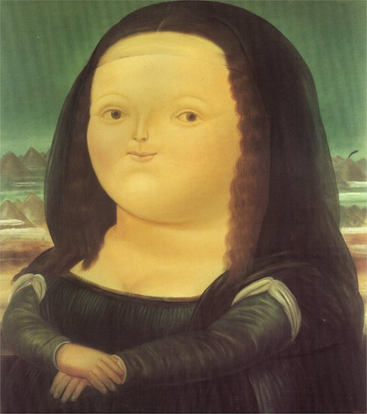 Fernando Botero - Mona Lisa
