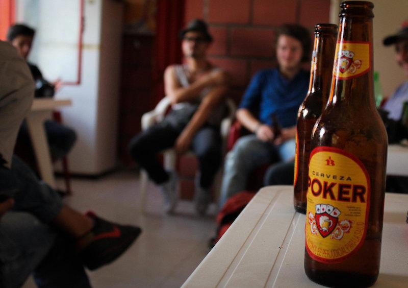 Poker Biere Colombie