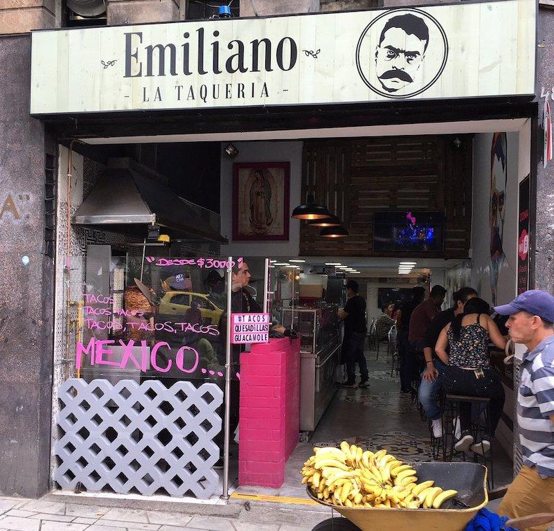Restaurant Emiliano La Taqueria Medellin