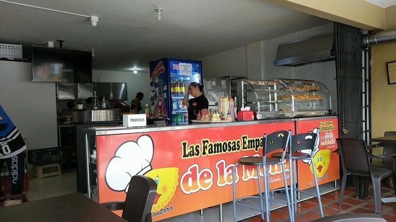Restaurant Empanaditas De La Mona Medellin