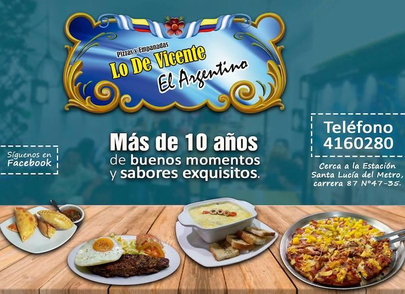 Restaurant Lo De Vicente Medellin