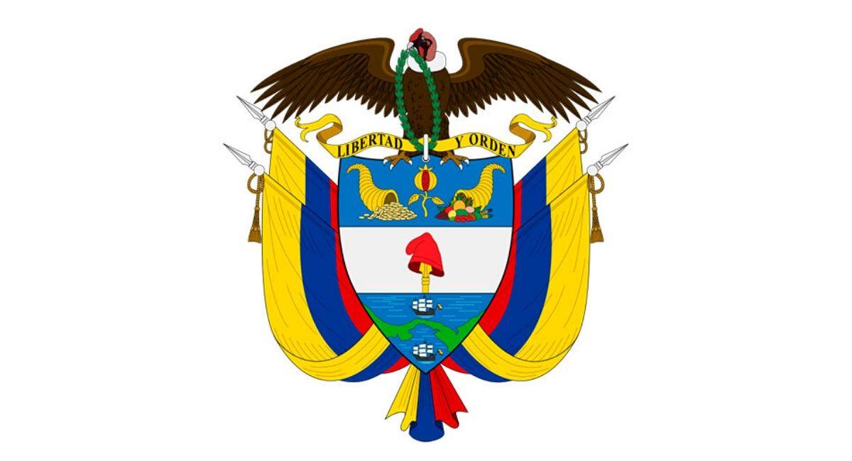Blason Republique Colombie