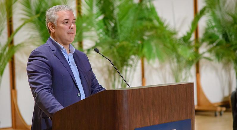 Ivan Duque Colombie
