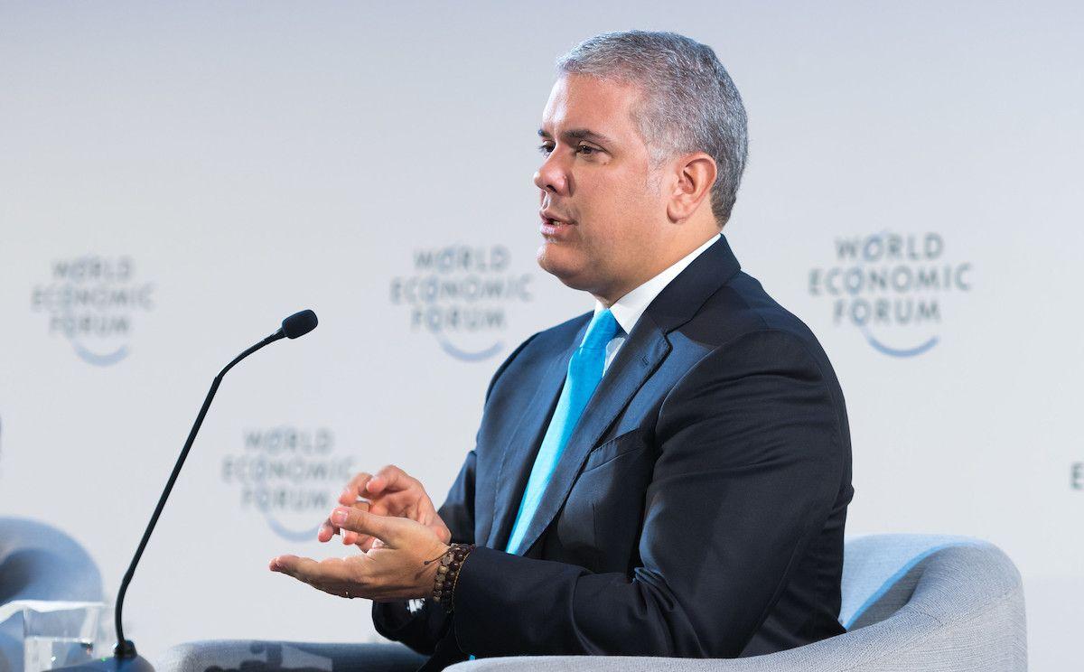 Ivan Duque President Colombie