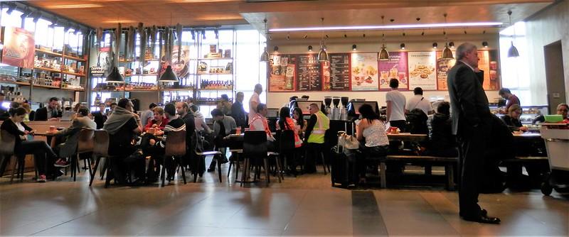 Manger Aeroport Bogota