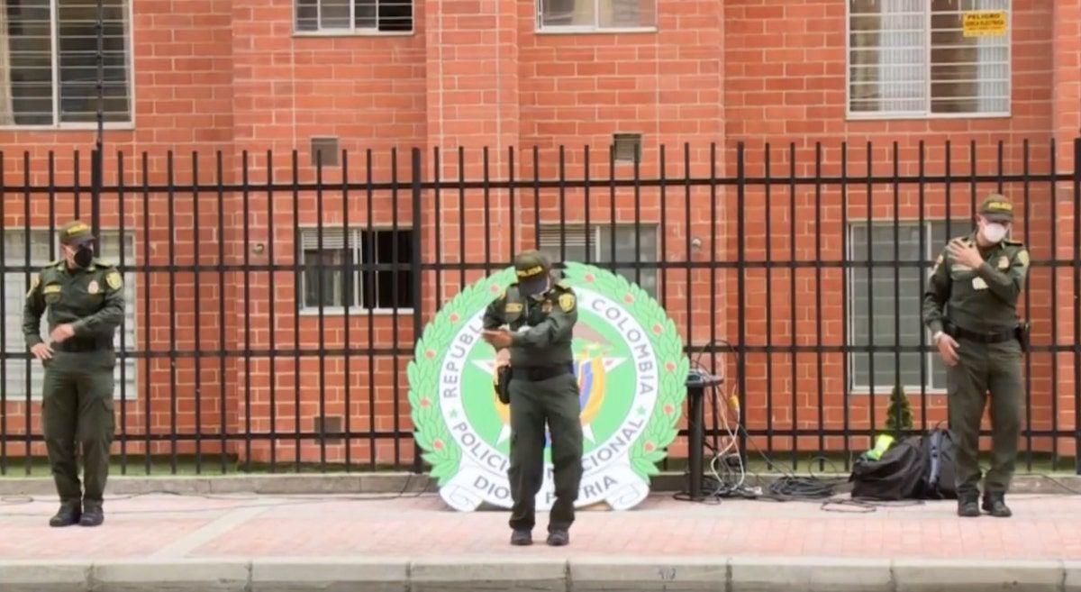Police Bogota Zumba