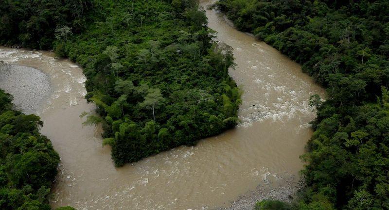 Rio Putumayo Colombie