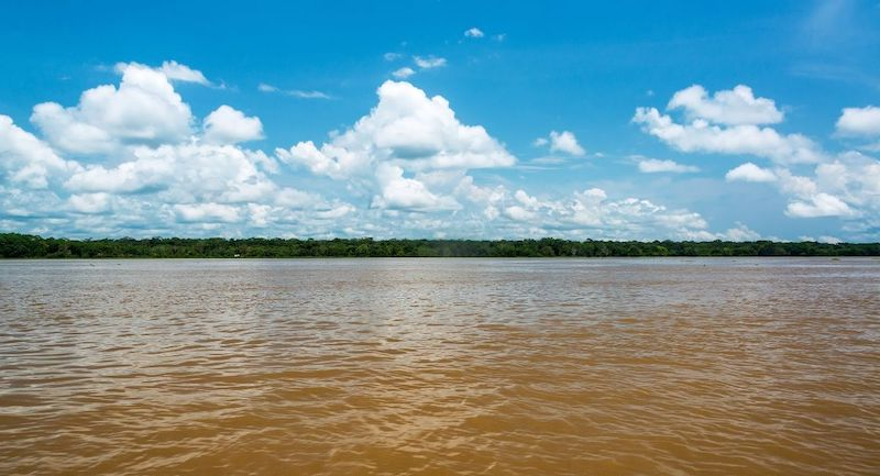 Rio Amazone Colombie