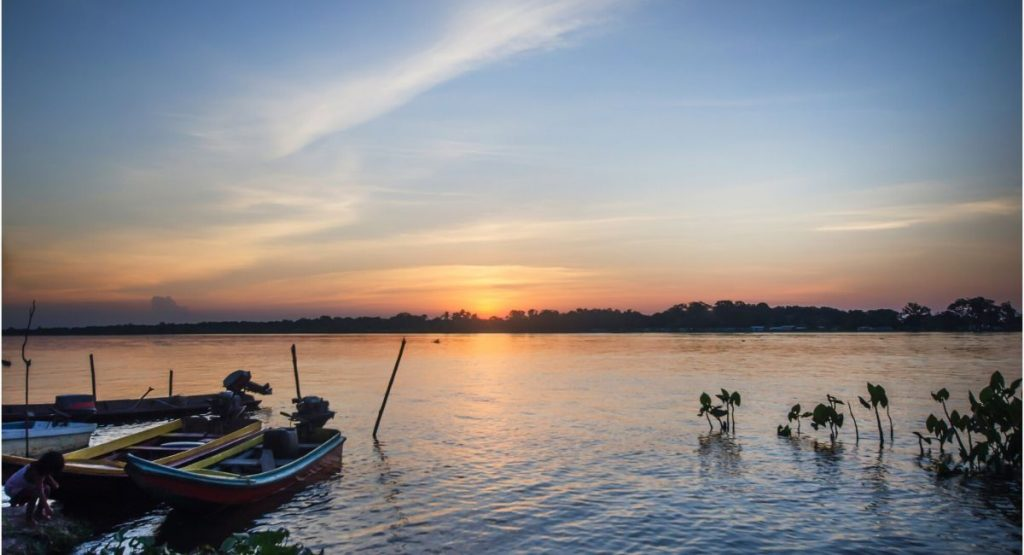Rio Orinoco Colombie
