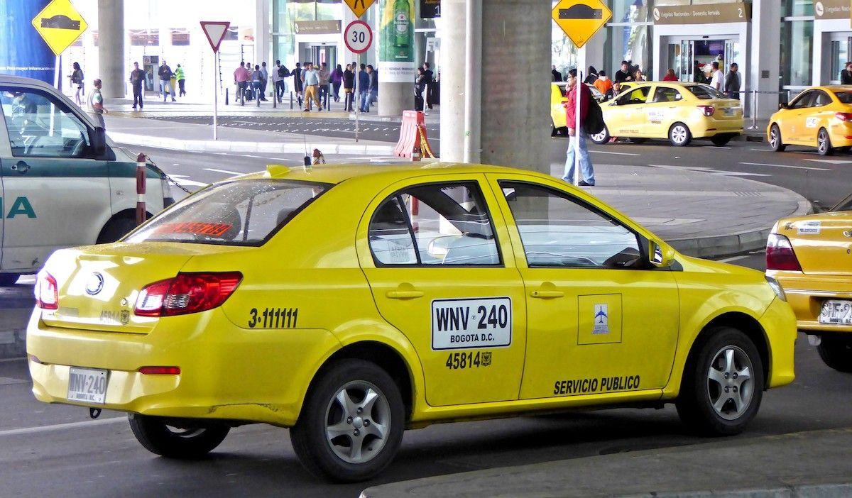 Taxi Bogota