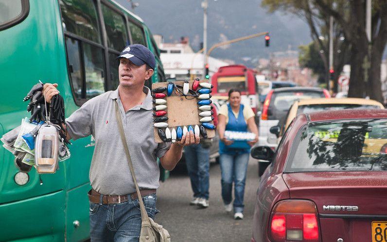 Vendeur Route Bogota