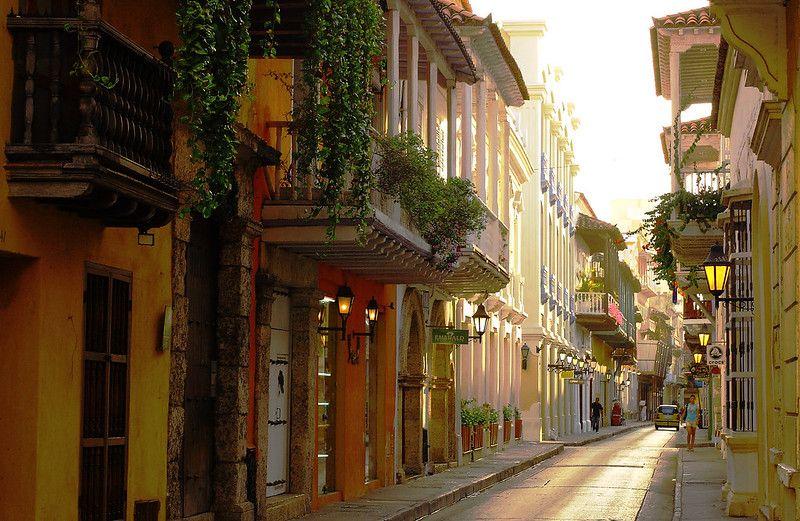 Ville Carthagene Colombie