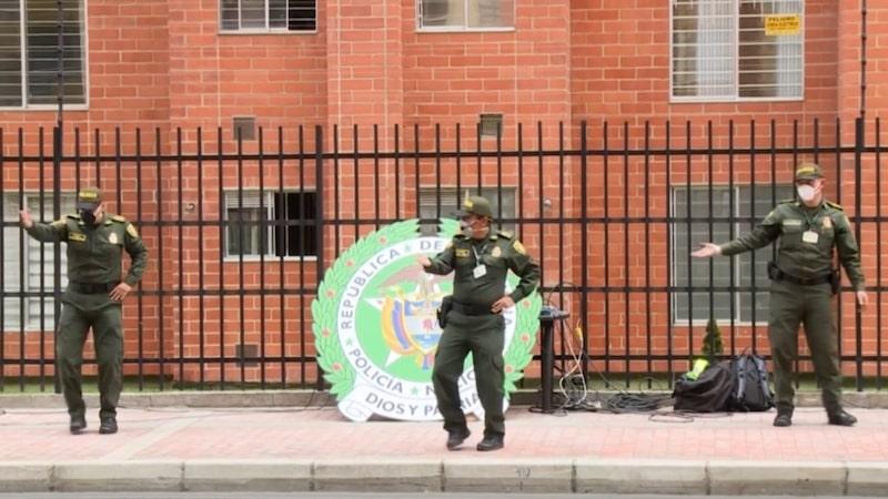Zumba Police Bogota