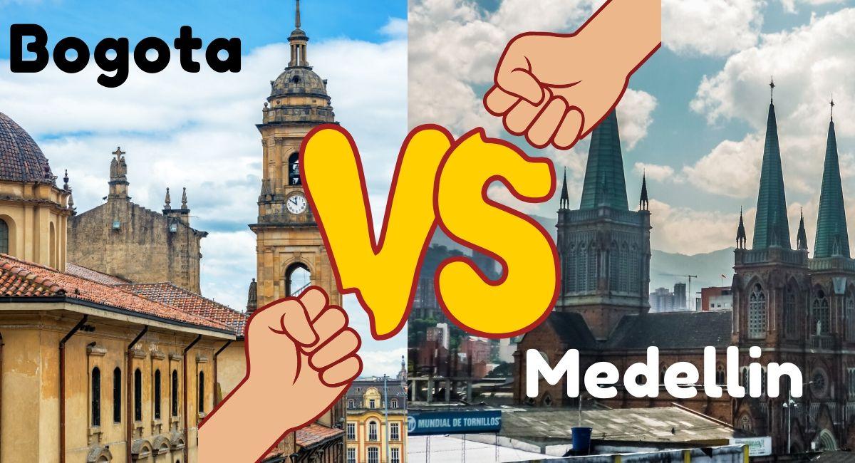 Bogota Medellin Differences